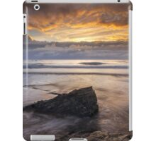 Cornwall - Trebarwith Sunset iPad Case/Skin