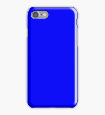 Blue Screen Chroma Key Background For Streaming & Videos iPhone Case/Skin