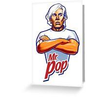 Andy Warhol Mr. Pop Greeting Card
