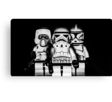 Welcome to the Darkside Canvas Print