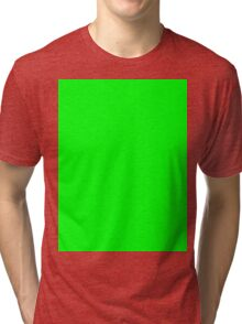 Green Screen Chroma Background For Streaming & Videos Tri-blend T-Shirt