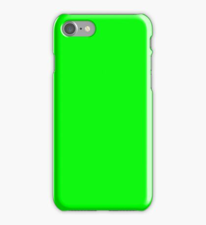 Green Screen Chroma Background For Streaming & Videos iPhone Case/Skin