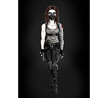 Female Winter Soldier Photographic Print