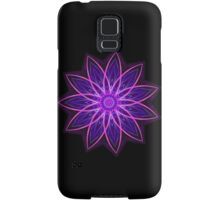 Fractal Flower - Purple Samsung Galaxy Case/Skin