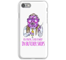 Uncle Monty iPhone Case/Skin