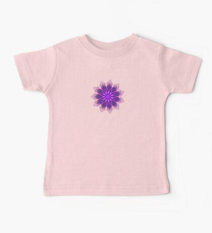 Fractal Flower - Purple Baby Tee