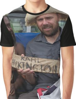 Karl Pilkington Idiot Abroad All Over Print Graphic T-Shirt
