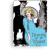 Dorothy and the Wizard of Oz Canvas Print