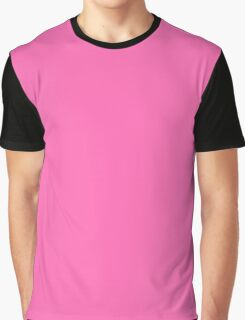 Solid Neon Pink! Cute! Graphic T-Shirt