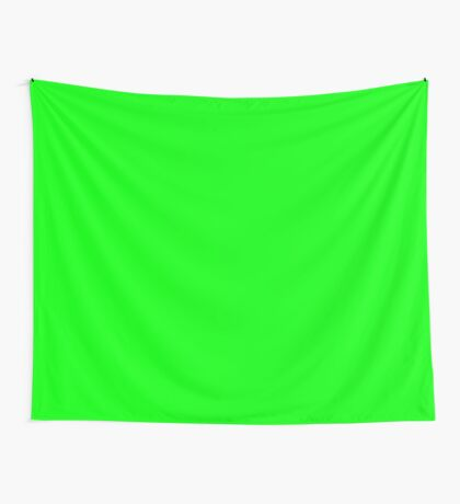 Green Screen Chroma Background For Streaming & Videos Wall Tapestry