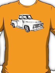 1955 F100 Ford Pickup Truck Illustration T-Shirt