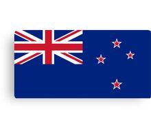 New Zealand Flag Canvas Print