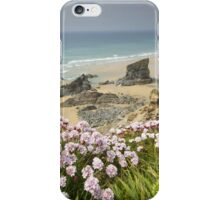 Cornwall - Bedruthan Steps iPhone Case/Skin