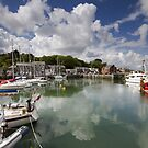 Cornwall - Padstow Harbour by Angie Latham
