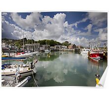 Cornwall - Padstow Harbour Poster