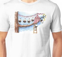 Its a circus up there Unisex T-Shirt