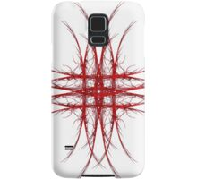 The Red - Fractal Art Design Samsung Galaxy Case/Skin