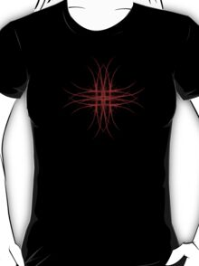The Red - Fractal Art Design T-Shirt