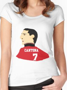 Cantona Women's Fitted Scoop T-Shirt