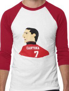 Cantona Men's Baseball ¾ T-Shirt