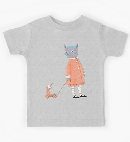 Cat Child Takes a Walk Kids Clothes