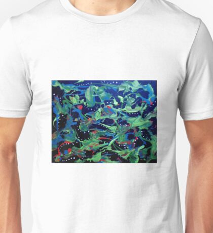 Happy Abstract Unisex T-Shirt