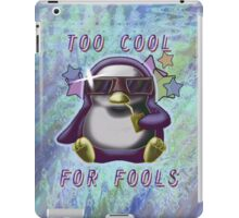 Too Cool for Fools v03 iPad Case/Skin
