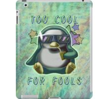 Too Cool for Fools v01 iPad Case/Skin