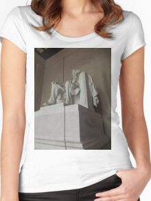 Honest Abe Women's Fitted Scoop T-Shirt