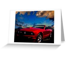 The Mustang Dream Greeting Card
