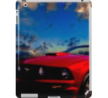 The Mustang Dream iPad Case/Skin