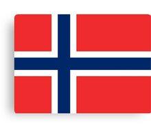 Norway Flag Canvas Print