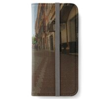 Denia, Spain Streetscape iPhone Wallet/Case/Skin
