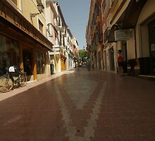 Denia, Spain Streetscape by Allen Lucas