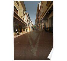 Denia, Spain Streetscape Poster