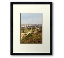 looking over sowerby bridge Framed Print
