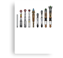 Sonic Screwdrivers  Canvas Print