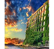 Old factory Chicago Photographic Print