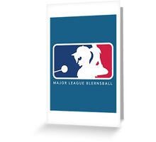 Major League Blernsball Greeting Card