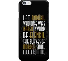 Sword of the King iPhone Case/Skin