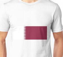 Qatar Flag Unisex T-Shirt