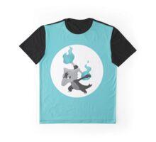 Alolan Marowak Pokemon Design Graphic T-Shirt