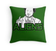 Ancient Aliens Guy Meme Throw Pillow
