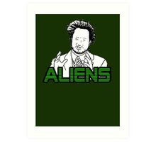 Ancient Aliens Guy Meme Art Print