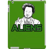 Ancient Aliens Guy Meme iPad Case/Skin