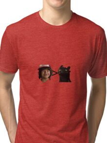 toothless > toothless Tri-blend T-Shirt