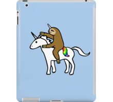 Slothicorn Riding Unicorn iPad Case/Skin