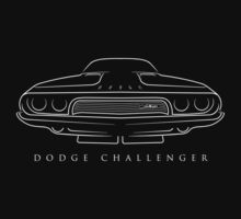 1973 Dodge Challenger - Stencil One Piece - Short Sleeve