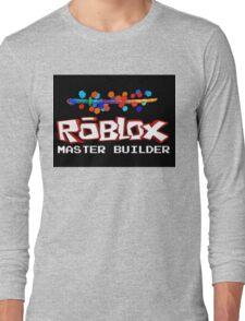 Roblox Master Builder Design Long Sleeve T-Shirt