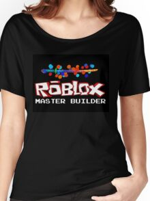 Roblox Master Builder Design Women's Relaxed Fit T-Shirt